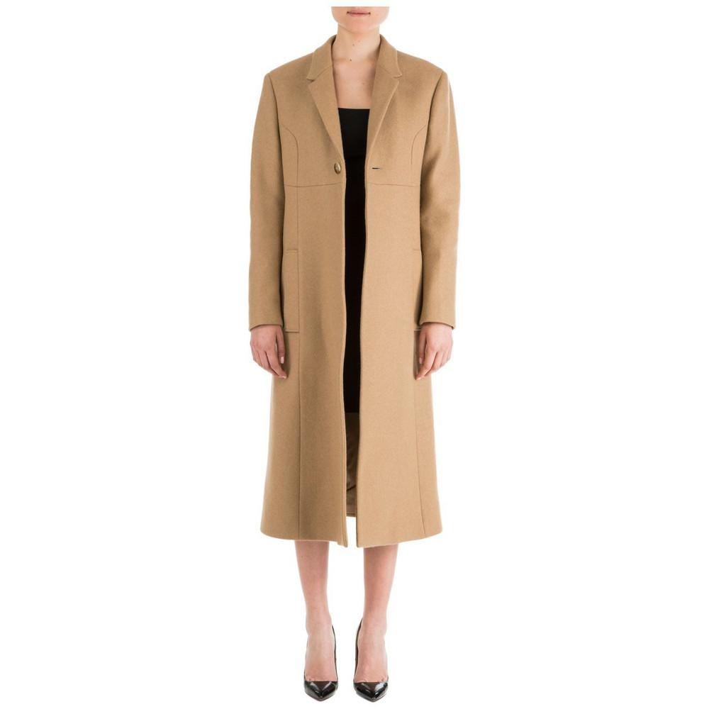 Neil Barrett Wool Coat in camel