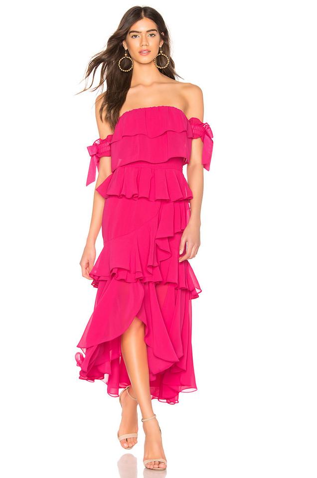 MISA Los Angeles X REVOLVE Isidora Dress in pink