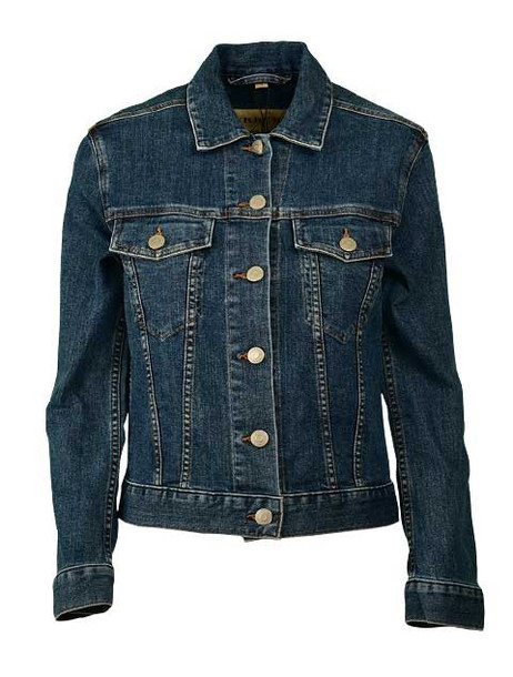 Burberry Embroidered Jacket in blue