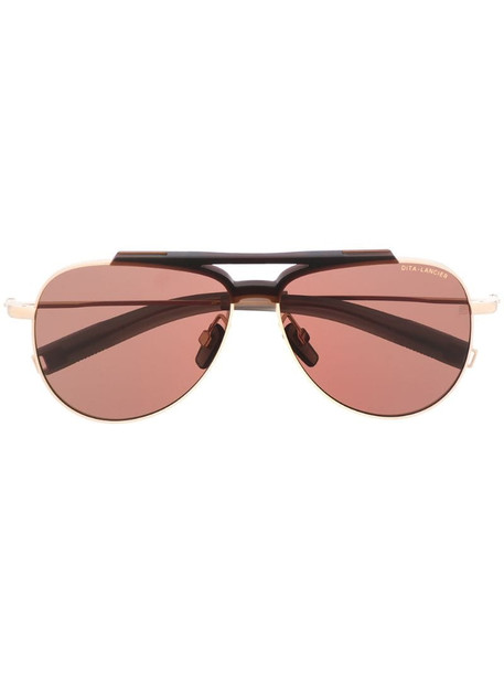 Dita Eyewear aviator frame sunglasses in black