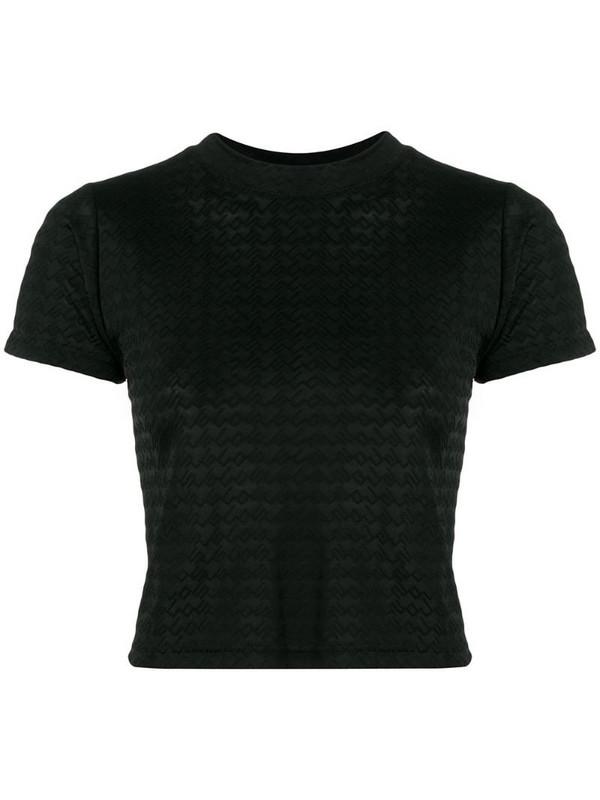 Gcds logo print T-shirt in black