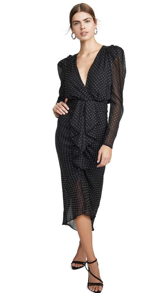 Ronny Kobo Astrid Dress in black