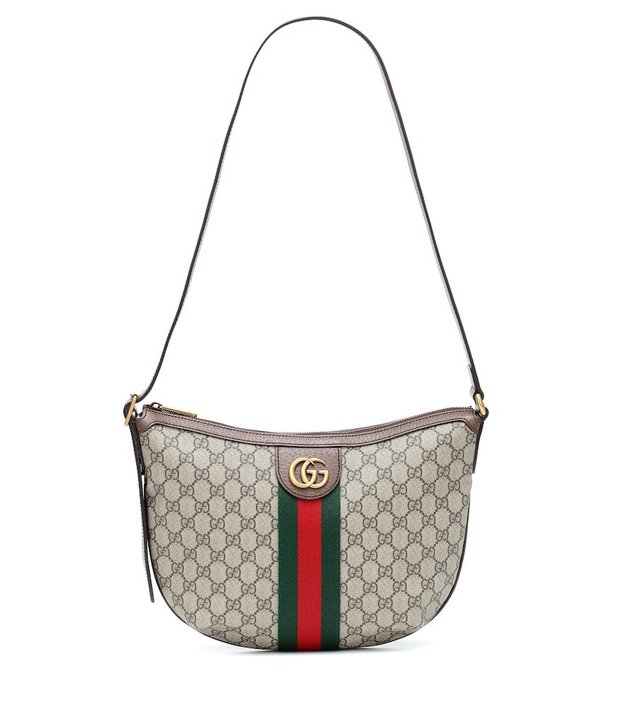 Gucci Ophidia GG Small shoulder bag in beige