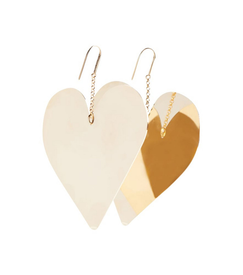 Isabel Marant Heart earrings in gold
