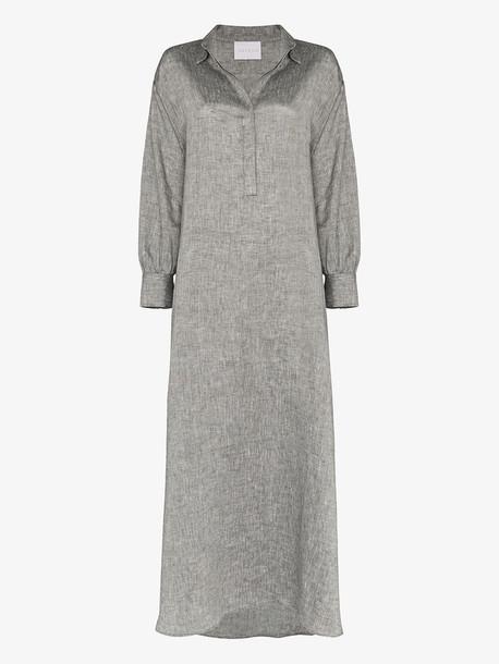 Asceno Porto dress in grey