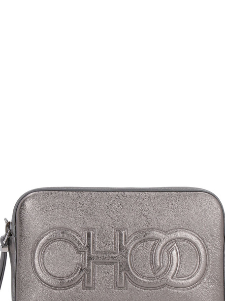Jimmy Choo Balti Metallic Leather Mini-bag