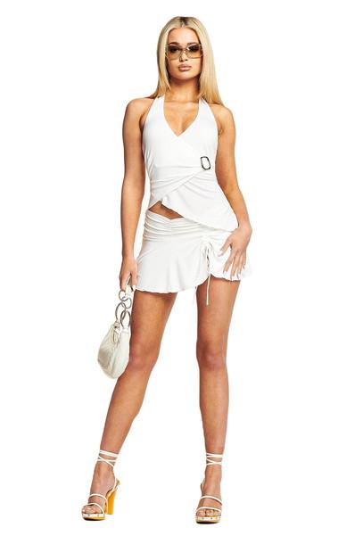I Am Gia AMY SKIRT - WHITE