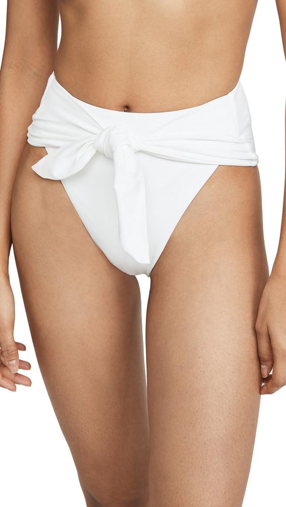 WeWoreWhat Riviera Bikini Bottoms in white