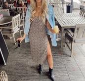 dress,boho,boho dress,floral dress,shoes,black boots,black booties,maxi dress,midi dress,flowers,floral