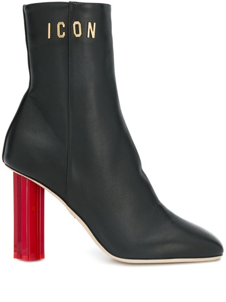 Dsquared2 Icon ankle boots in black