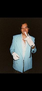 coat,blazer,harry styles,blue
