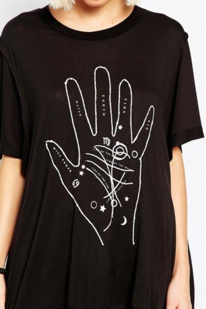 shirt black shirt t shirt print