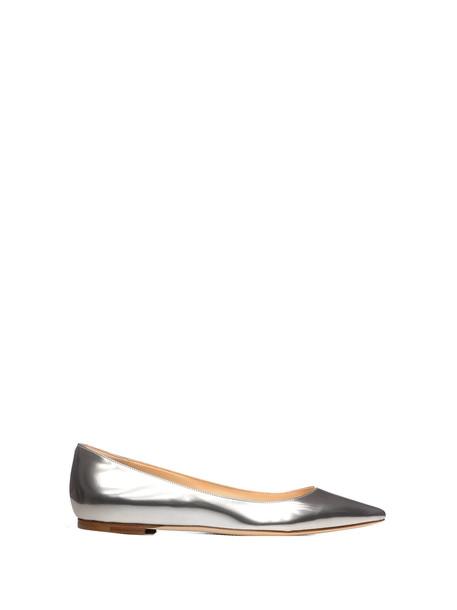 Jimmy Choo Jimmy Choo Romy Flat Shoes in silver