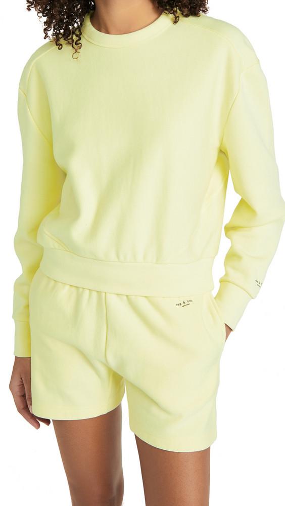 Rag & Bone City Sweatshirt in green
