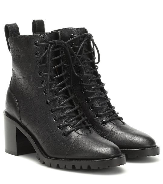 Jimmy Choo Cruz 65 leather ankle boots in black
