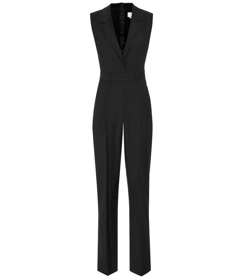 MSGM Virgin wool jumpsuit in black