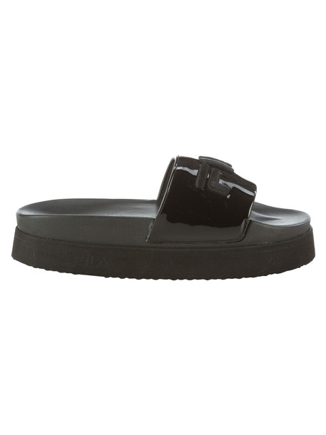 Fila Morro Bay Flat Shoes in nero