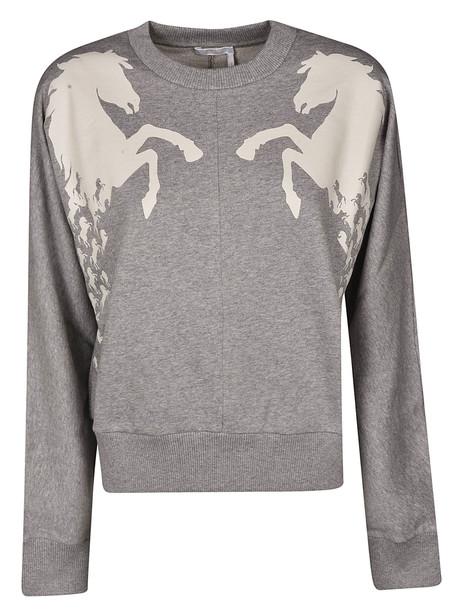 Chloé Chloé Printed Sweatshirt in grey