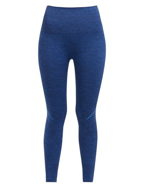 Lndr - Blackout Compression Leggings - Womens - Navy