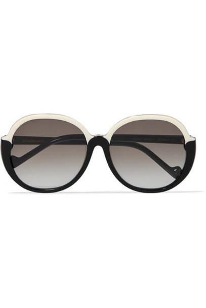 Zimmermann - Joliette Round-frame Two-tone Acetate Sunglasses - Black