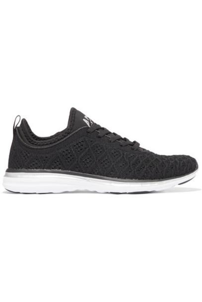 APL Athletic Propulsion Labs - Techloom Phantom 3d Mesh Sneakers - Black