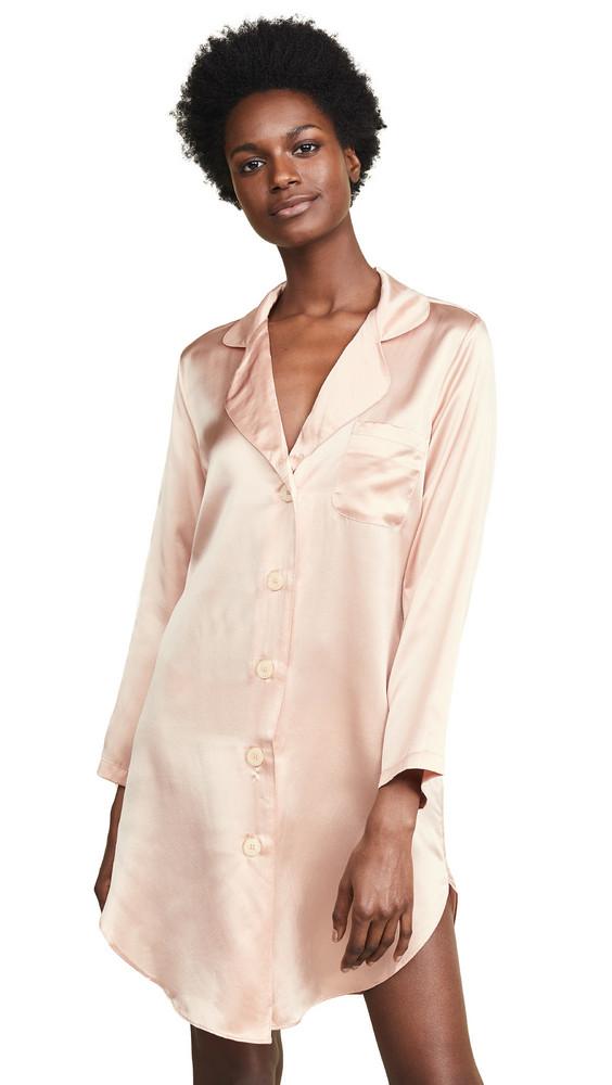 Morgan Lane Jillian Night Shirt in rose