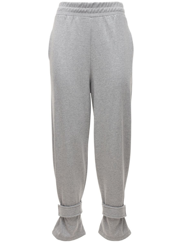 THE FRANKIE SHOP Cotton Sweatpants in grey