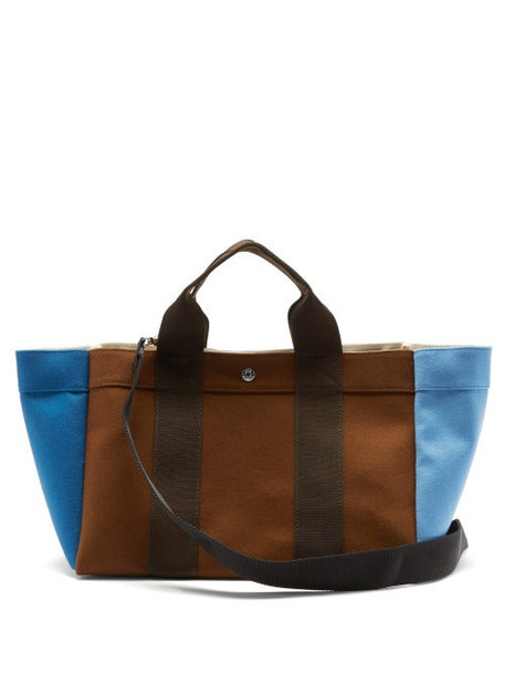 Rue De Verneuil - Parcours Medium Felt Tote Bag - Womens - Brown Multi