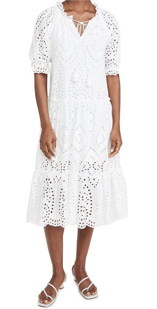 OPT Sundays Dress in white