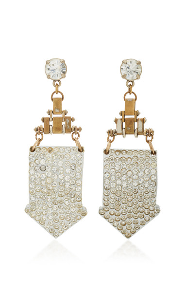 Lulu Frost Gold-Plated Crystal Earrings