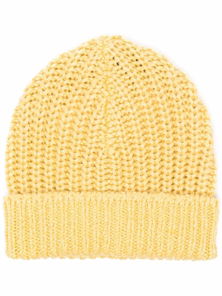 Isabel Marant chunky-knit beanie - Yellow