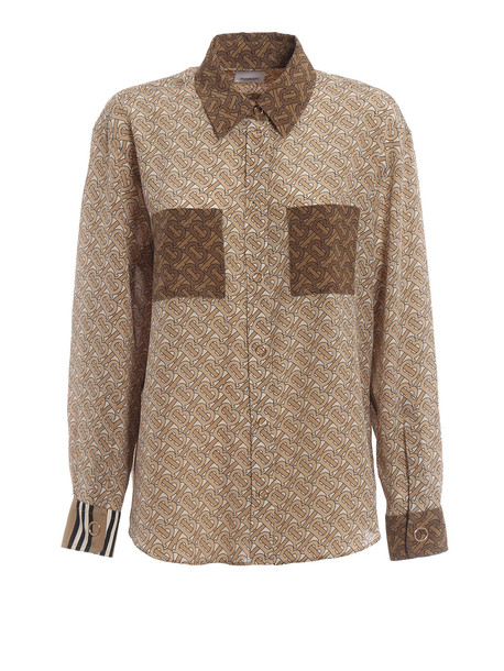 Burberry Monogram Print Shirt