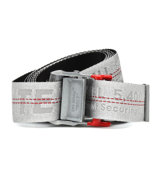 Off-White Industrial belt in silver