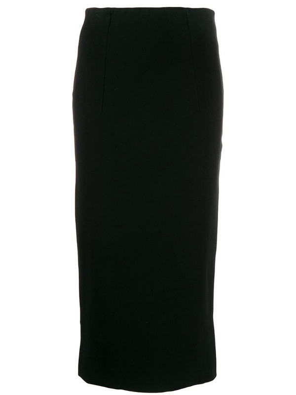 Blumarine stretch pencil skirt in black