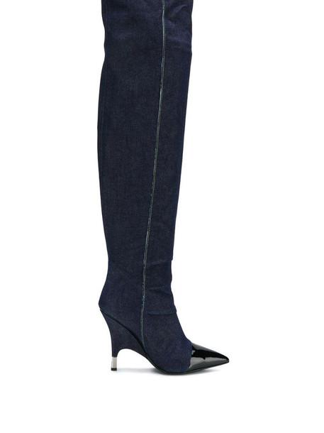 Giuseppe Zanotti Harper boots in blue