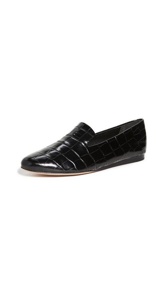 Veronica Beard Griffin Flats in black