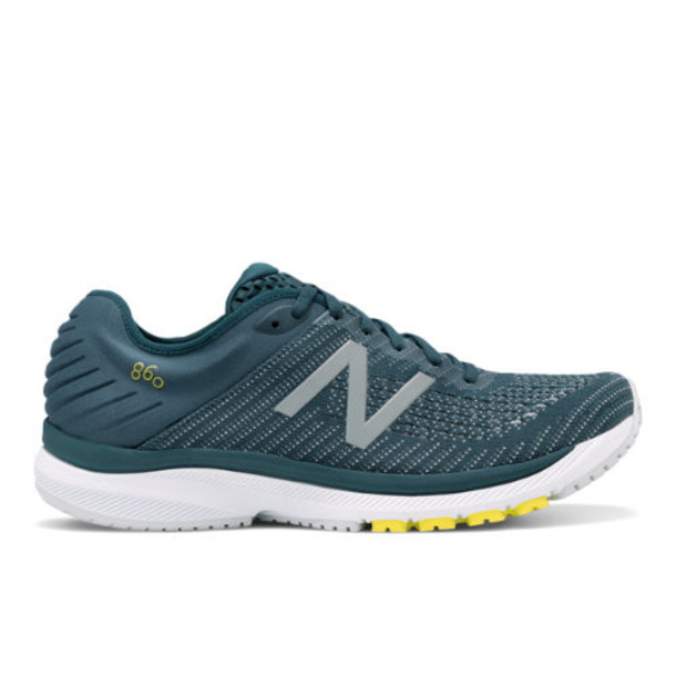 New Balance 860v10 Men's Stability Shoes - Green/Blue (M860A10)
