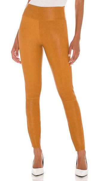 SPRWMN Ankle Legging in Tan in camel
