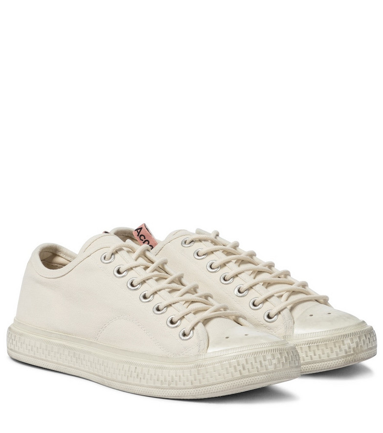 Acne Studios Canvas sneakers in white