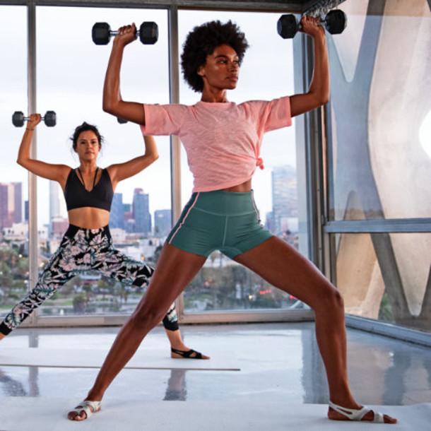 New Balance 91467 Women's Well Being Cropped Tee - Pink (WT91467GGO)