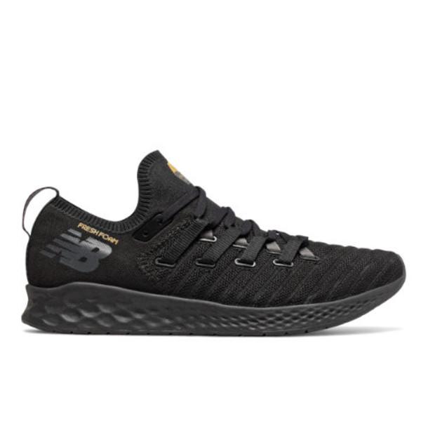 New Balance Fresh Foam Zante Trainer Men's Cross-Training Shoes - Black/Grey/Gold (MXZNTLB)