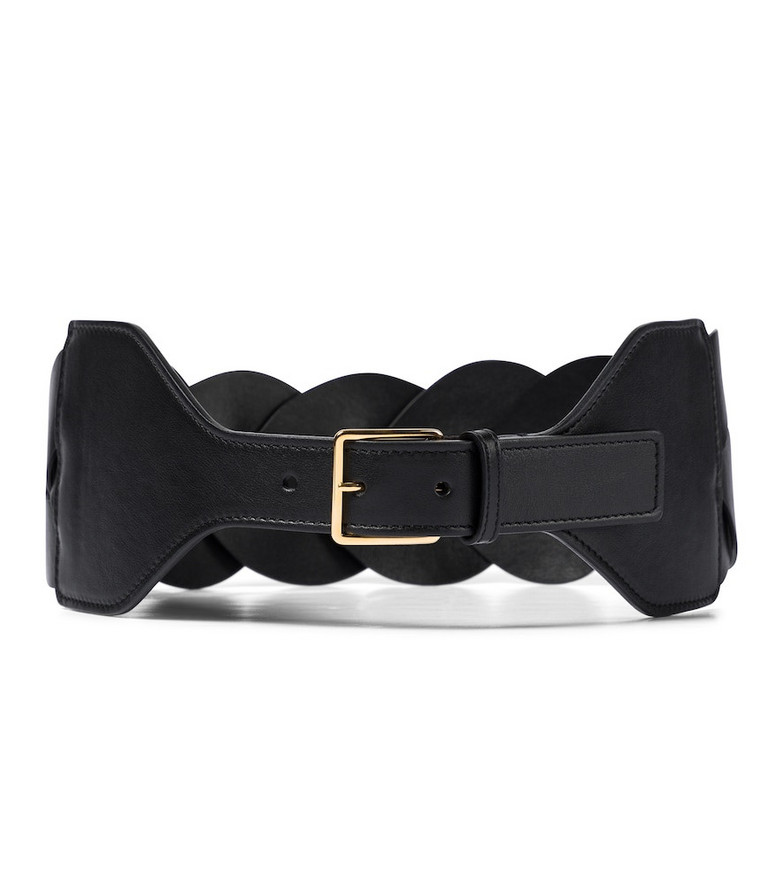 Altuzarra Braided leather belt in black