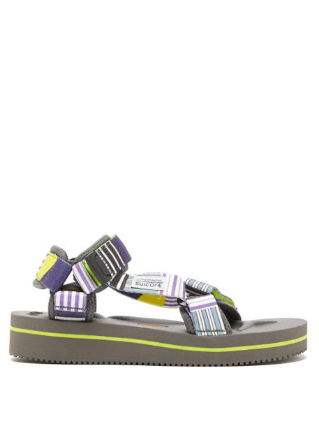 Suicoke - Depa V2 Eu2 Striped Sandals - Womens - Multi