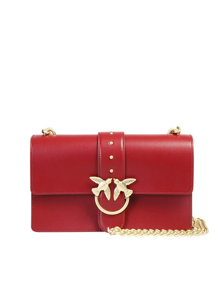 Pinko Love Bag in red