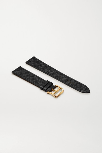 Hermès Timepieces - Heure H 26.4mm Leather Watch Strap - Black