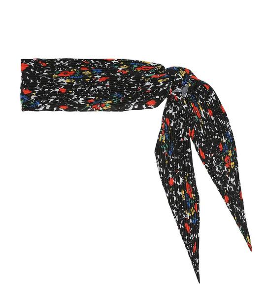 Missoni Printed scarf in black