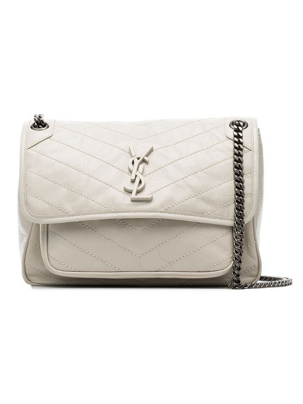 Saint Laurent medium Niki shoulder bag in neutrals