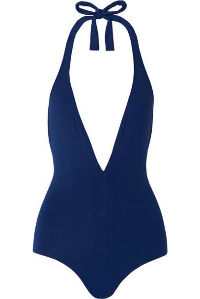Eres - Les Essentiels Cachette Halterneck Swimsuit - Navy