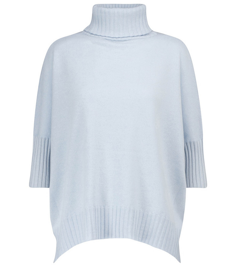 Dorothee Schumacher Soft Edge cashmere sweater in blue