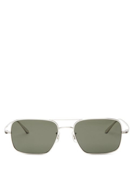 The Row - X Oliver Peoples Victory La Square Sunglasses - Womens - Black